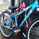 Painting Bike Frames!