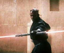Darth Maul LED light saber