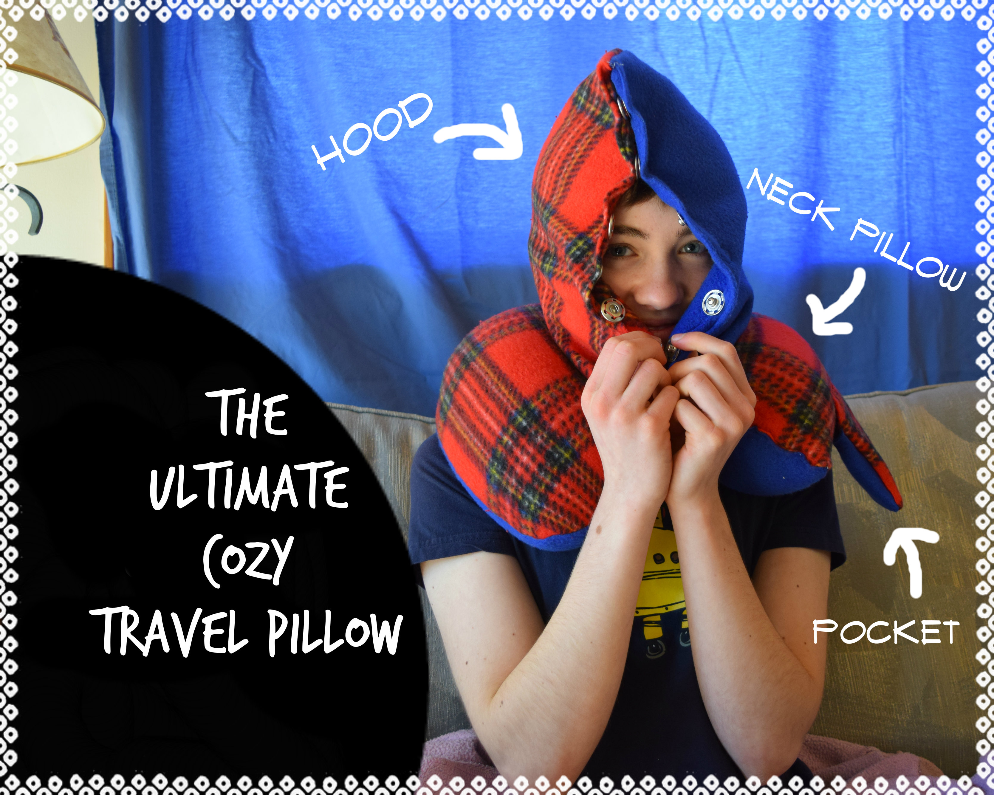 Picture of The Ultimate Cozy Travel Pillow
