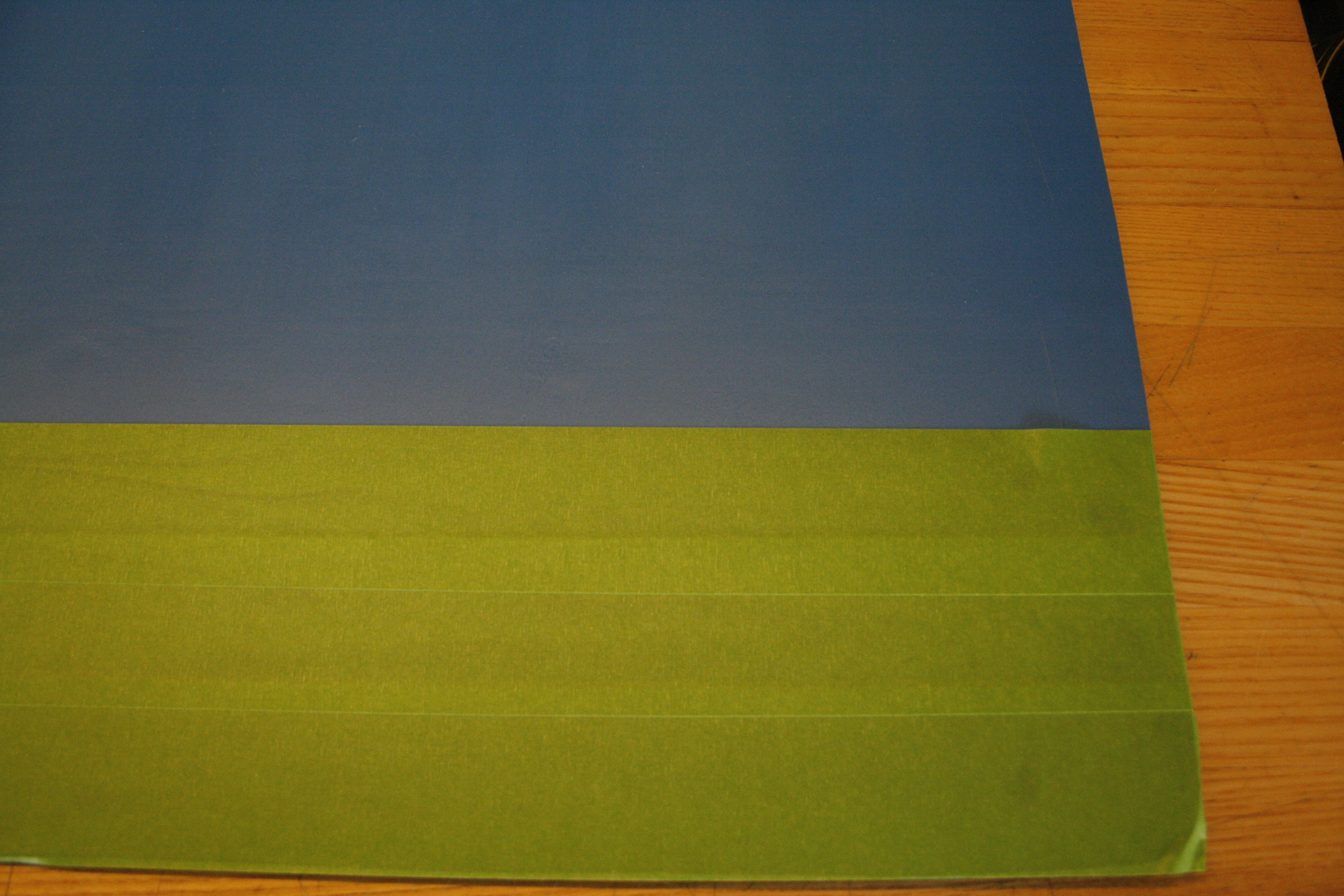 Picture of Apply Green Painters Tape