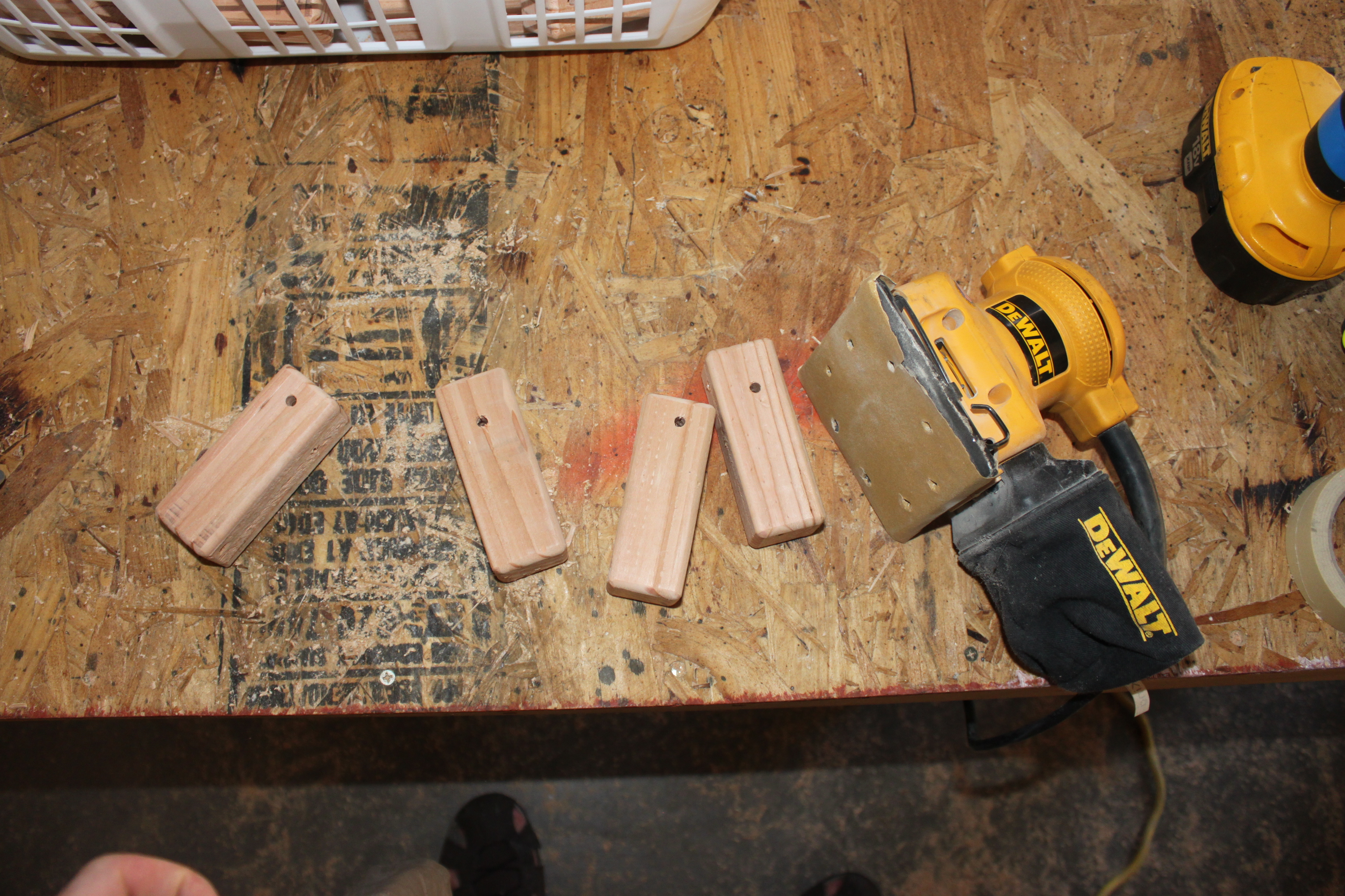Picture of Sanding and Finishing the Wood