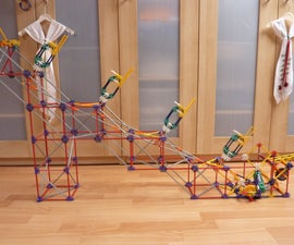 Connected Arm Lift, a knex ball machine lift