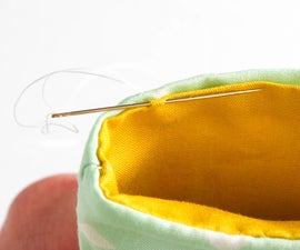 Sewing the Slip Stitch