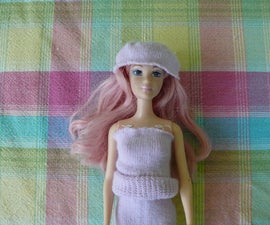 Barbie clothes from toddler socks