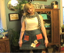 How to Make an Apron Out of Old Jeans