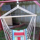 Hammock Chair From Old Swing Frame