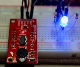 Sound Decibel Multicoloured LED Indicator