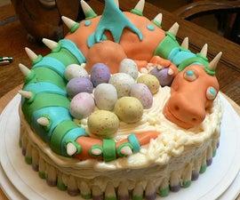 How to make a Dragon Cake