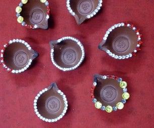 Diya Decoration to Be Used on Festivals