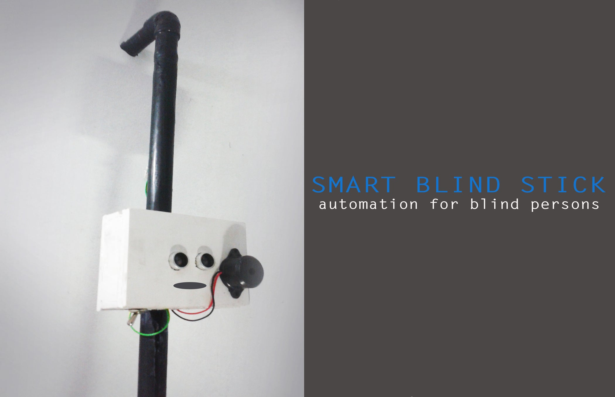 Diy Smart Blind Stick Using Arduino 7 Steps With Pictures Circuit Uses The Fire Feeds About 9v See And Read To Add