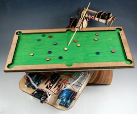 Pool Playing Robot