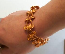Egyptian Coil Bracelet