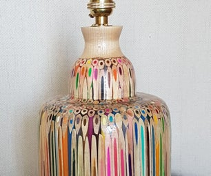 Colour Pencil Lamp