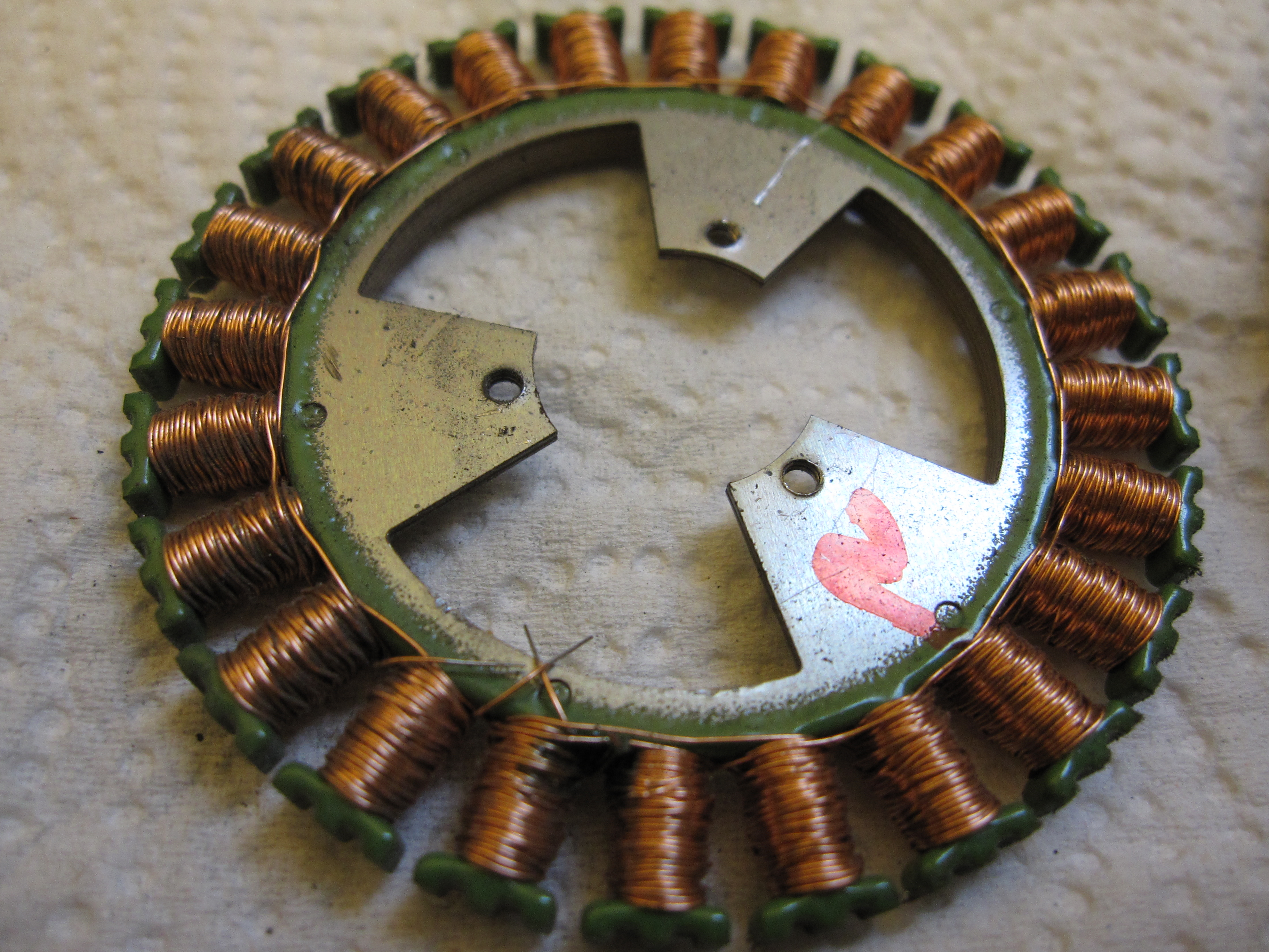 Picture of Prep the Stator Coils