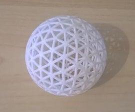 3D Printed Ping-Pong Ball