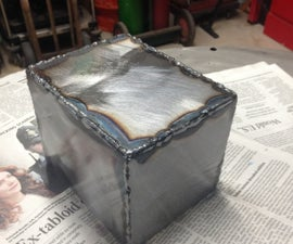 How To MIG Weld A Box