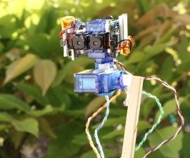 Binocular Robot Head a Stereoscope Camera