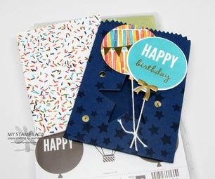 Birthday Card in a Bag