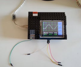 "Make an Oscilloscope Using the SainSmart Mega2560 With the TFT LCD Shield and the 3.5 ""color Touch Screen"