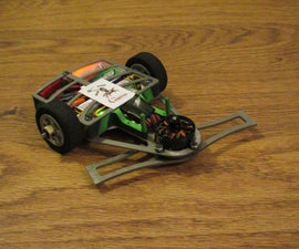 Keres, a pocket sized fighting robot.