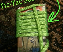 Survival Kit in a Tic-Tac box