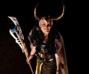 Lady Loki Halloween Costume