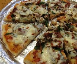 Stove Top Pizza    No Oven Pizza
