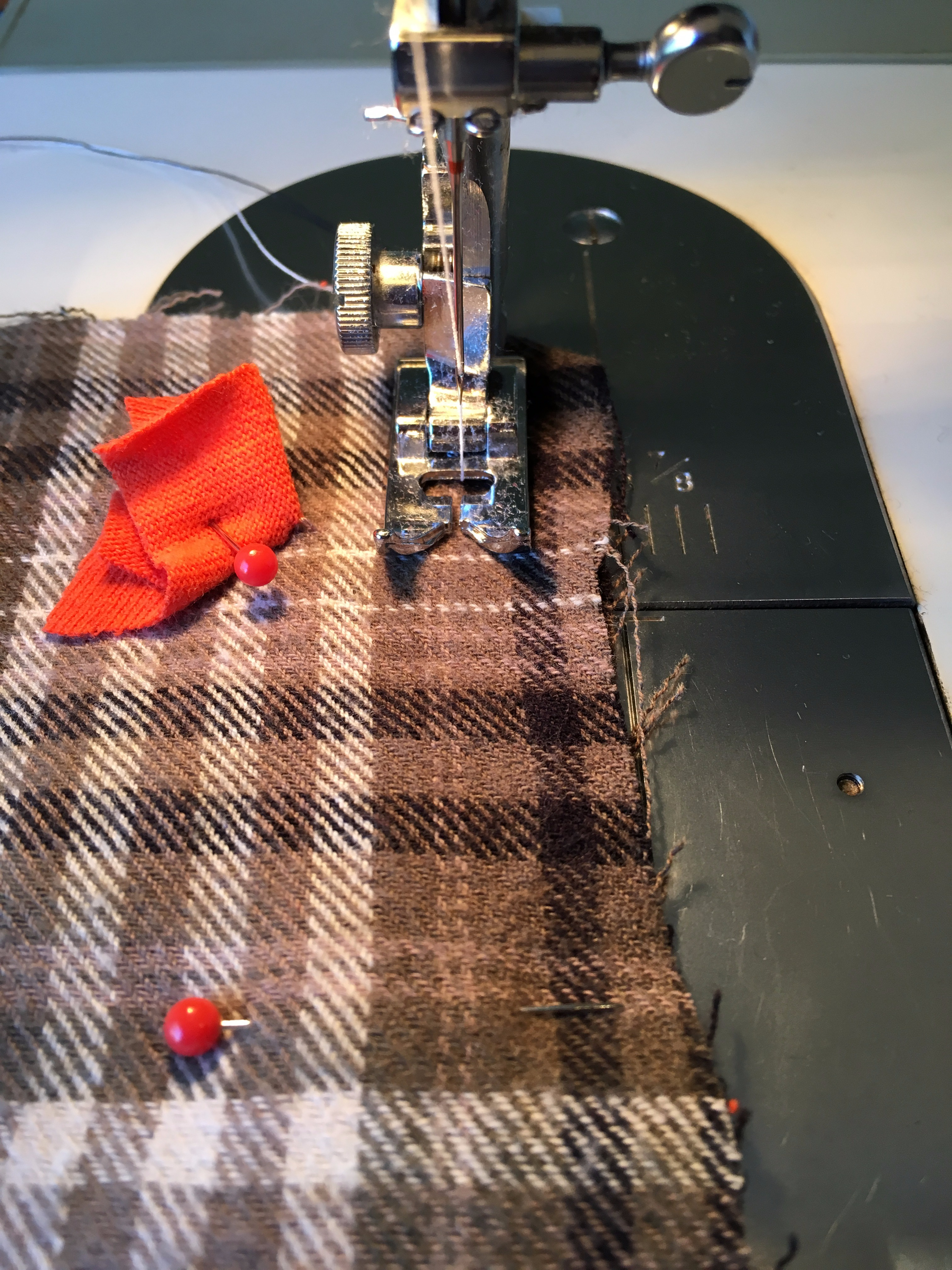 Picture of Sewing the U Shape
