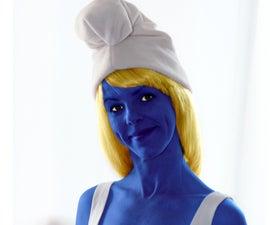 Easy Smurf Costume with Pattern