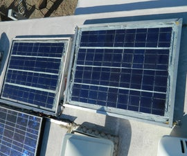 DIY Solar panels for RV or off grid