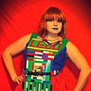Lego Dress (How To Attach Legos To Clothing)