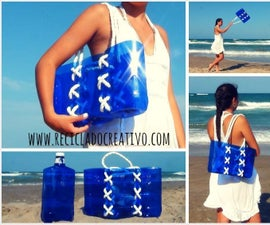 How to make a bag out of recycled plastic bottles