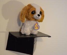 Cardboard And Duct Tape Shelf
