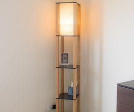 Shelf Floor Lamp