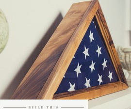How to Build a Memorial Flag Case