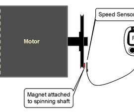 Tachometer Made From a Bicycle Speedometer (cyclocomputer)