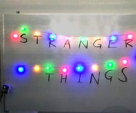 Joyce Byers Blinking Lights (1-Hour Challenge)