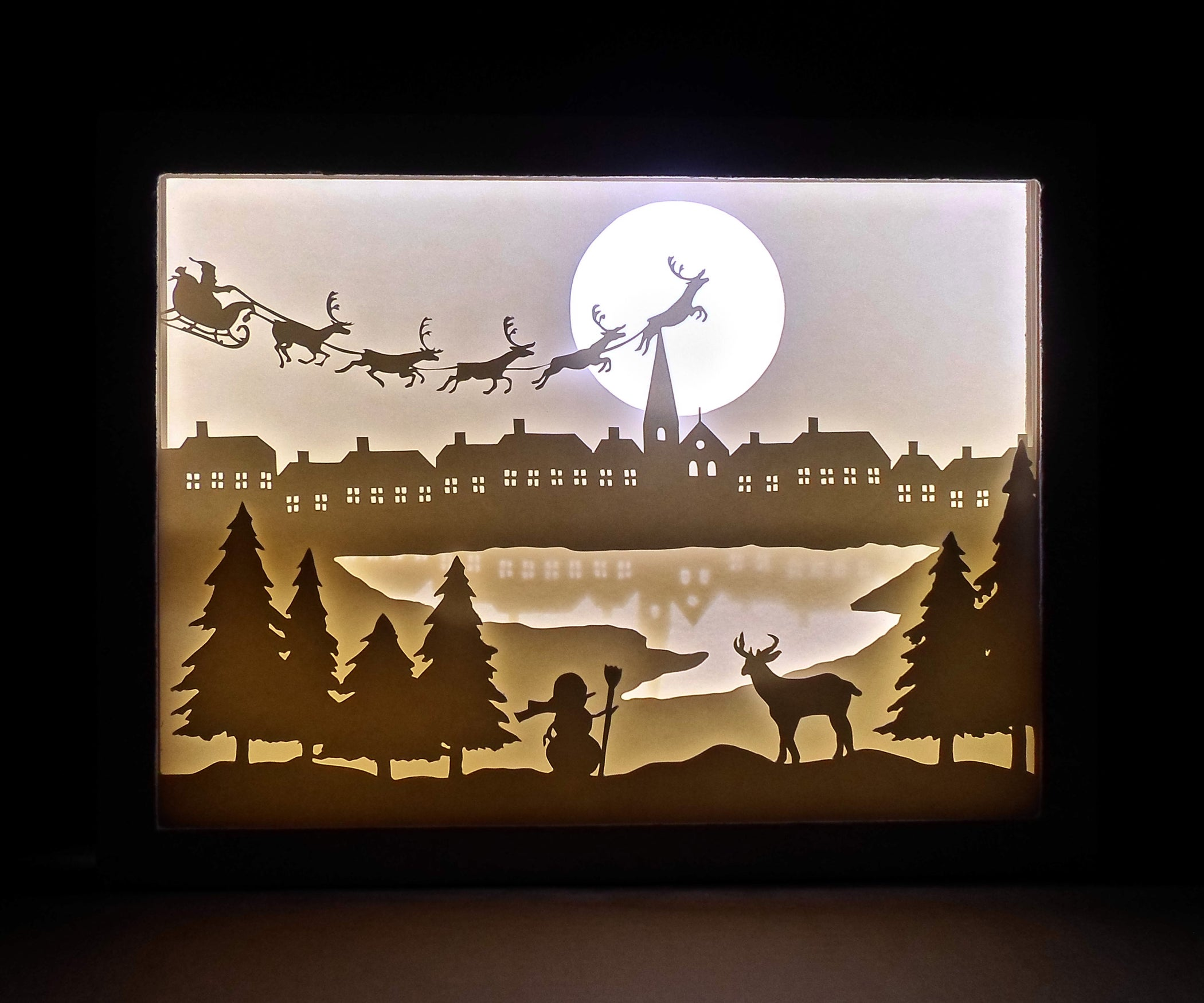DIY Paper Cut Shadow Box : 9 Steps (with Pictures) - Instructables