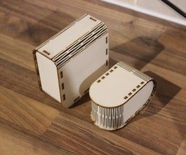 Laser Cut Parametric Flex Box Generators