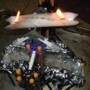 Flaming K'nex Spinner (Of Death!)
