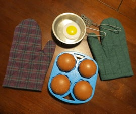 Toy Oven Mitts