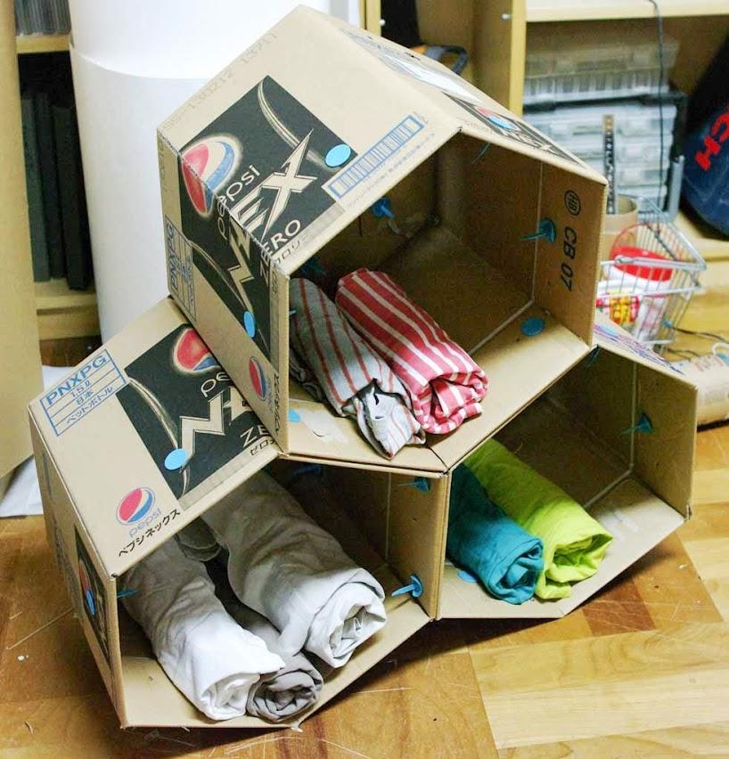 Picture of Makedo Cardboard Storage Unit
