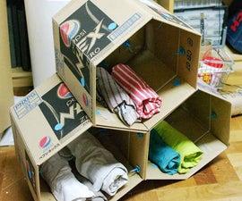 Makedo Cardboard Storage Unit