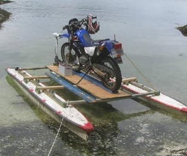Landing Craft for a Motorcycle