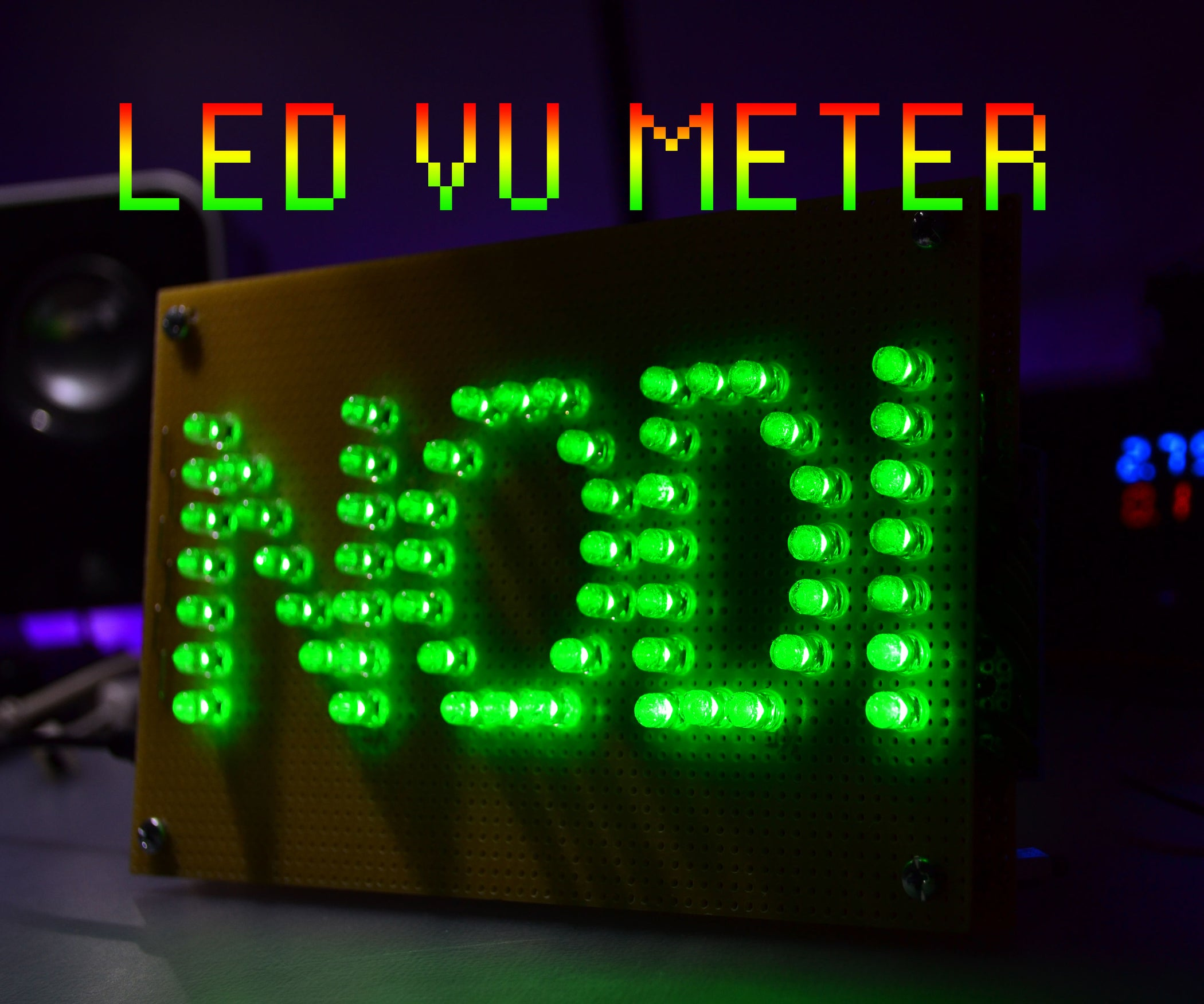 Led Vu Meter 6 Steps With Pictures Be The First To Review Lm324 Quad Operational Amplifier Cancel