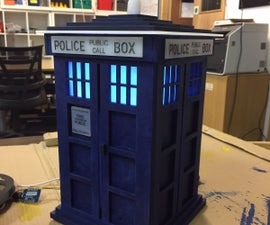 Dr Who Tardis Night Light With Google Assistant
