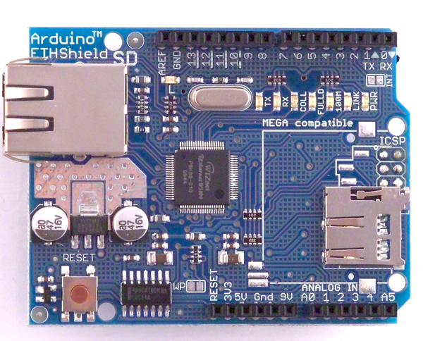 Picture of What is an Arduino Ethernet Shield used for?
