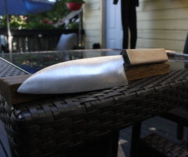 Making a Kitchen Knife From a Machete