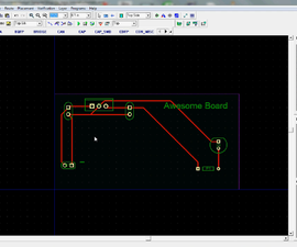 Lay out a Circuit Board