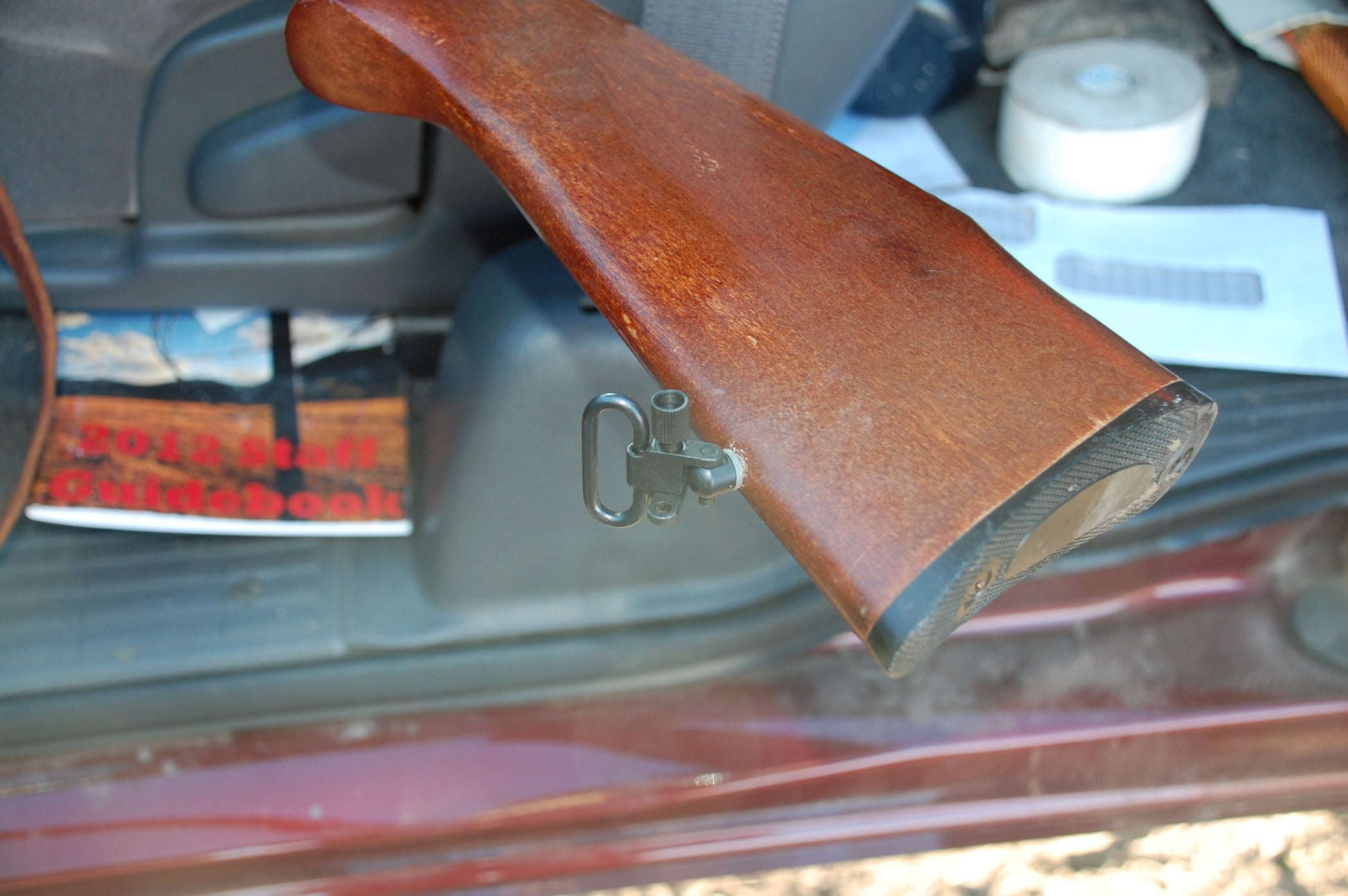 Install Sling Mounts For Your Rifle 8 Steps With Pictures Pin Marlin Model 336 Parts Diagram On Pinterest